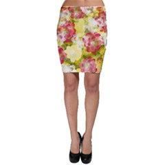 Flower Power Bodycon Skirt
