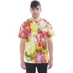Flower Power Men s Sports Mesh Tee