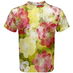 Flower Power Men s Cotton Tee