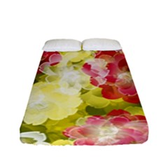 Flower Power Fitted Sheet (full/ Double Size)