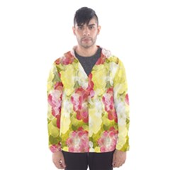 Flower Power Hooded Wind Breaker (men)