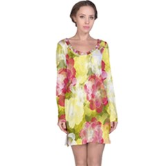 Flower Power Long Sleeve Nightdress