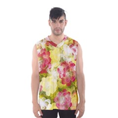 Flower Power Men s Basketball Tank Top