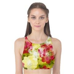 Flower Power Tank Bikini Top
