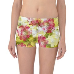 Flower Power Reversible Boyleg Bikini Bottoms