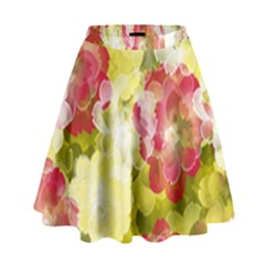 Flower Power High Waist Skirt