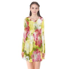 Flower Power Flare Dress
