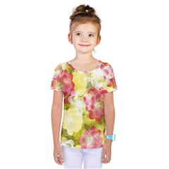 Flower Power Kids  One Piece Tee