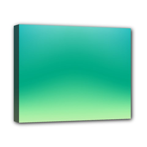 Sealife Green Gradient Canvas 10  X 8