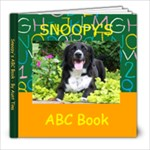 Snoopy s ABC Book - 8x8 Photo Book (30 pages)