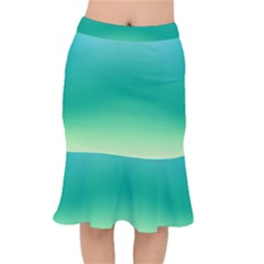 Sealife Green Gradient Mermaid Skirt