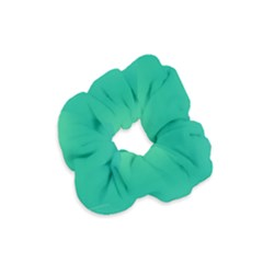 Sealife Green Gradient Velvet Scrunchie