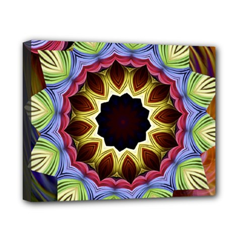 Love Energy Mandala Canvas 10  X 8