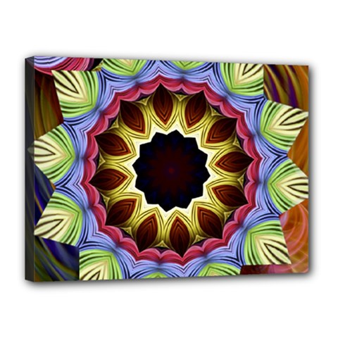 Love Energy Mandala Canvas 16  X 12