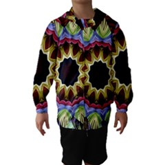 Love Energy Mandala Hooded Wind Breaker (kids)