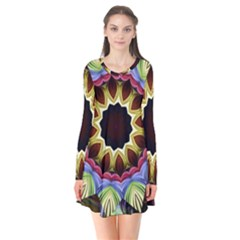 Love Energy Mandala Flare Dress