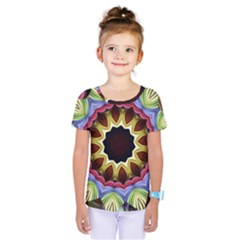Love Energy Mandala Kids  One Piece Tee