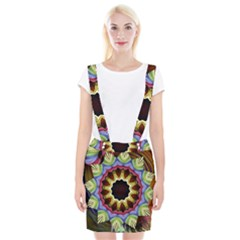 Love Energy Mandala Braces Suspender Skirt