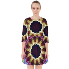 Love Energy Mandala Smock Dress