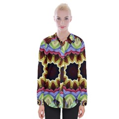 Love Energy Mandala Womens Long Sleeve Shirt
