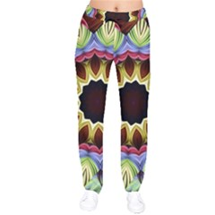 Love Energy Mandala Drawstring Pants