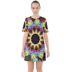 Love Energy Mandala Mini Dress