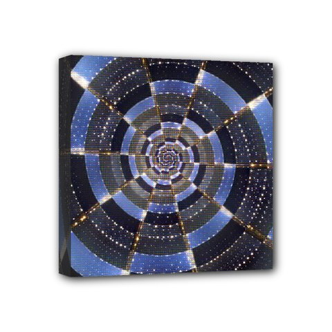 Midnight Crazy Dart Mini Canvas 4  X 4  by designworld65