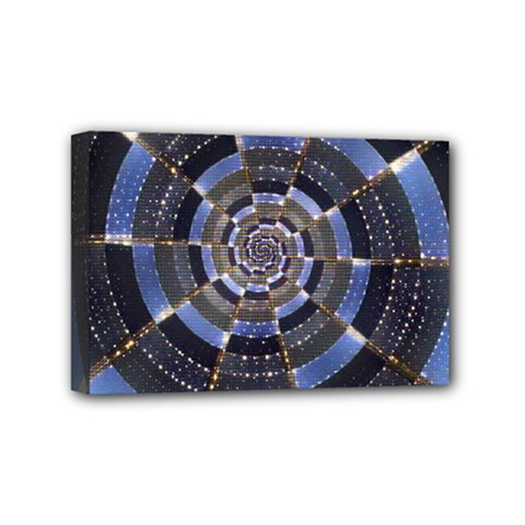 Midnight Crazy Dart Mini Canvas 6  X 4  by designworld65