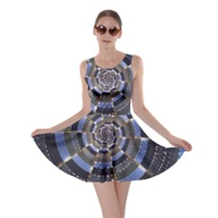 Midnight Crazy Dart Skater Dress by designworld65