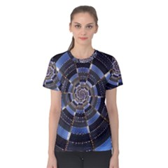Midnight Crazy Dart Women s Cotton Tee by designworld65