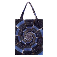 Midnight Crazy Dart Classic Tote Bag by designworld65