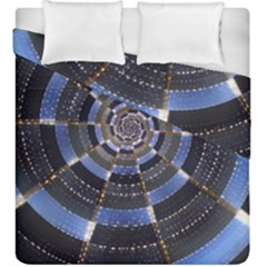 Midnight Crazy Dart Duvet Cover Double Side (king Size) by designworld65