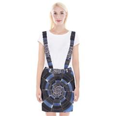 Midnight Crazy Dart Braces Suspender Skirt by designworld65