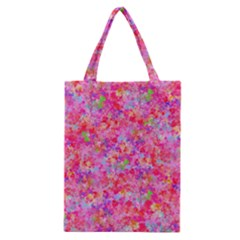 The Big Pink Party Classic Tote Bag by designworld65