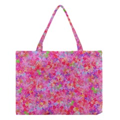 The Big Pink Party Medium Tote Bag by designworld65