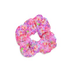 The Big Pink Party Velvet Scrunchie by designworld65