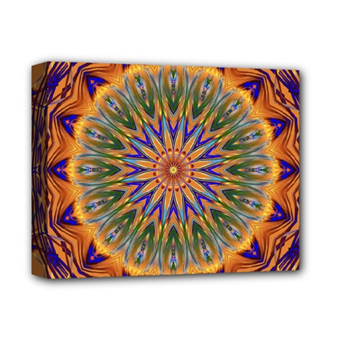 Powerful Mandala Deluxe Canvas 14  X 11  by designworld65