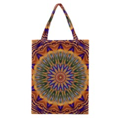 Powerful Mandala Classic Tote Bag by designworld65