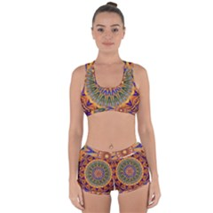 Powerful Mandala Racerback Boyleg Bikini Set by designworld65