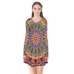 Powerful Mandala Flare Dress