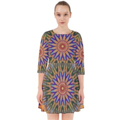 Powerful Mandala Smock Dress