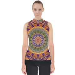 Powerful Mandala Shell Top