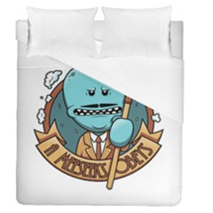 Meeseeks Duvet Cover Double Side (queen Size)