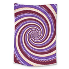 Woven Spiral Large Tapestry by designworld65