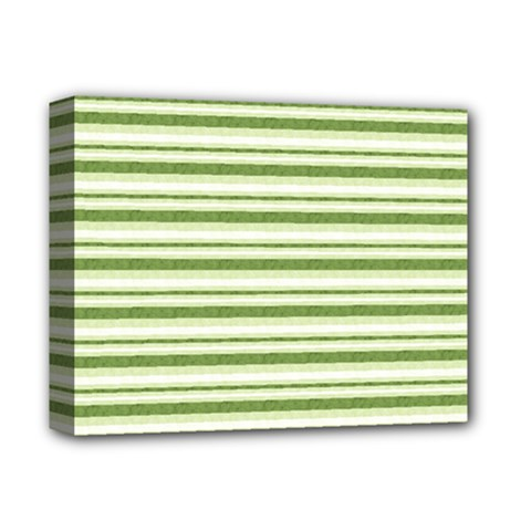 Spring Stripes Deluxe Canvas 14  X 11  by designworld65