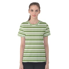 Spring Stripes Women s Cotton Tee