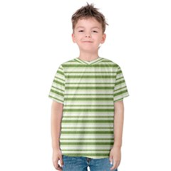Spring Stripes Kids  Cotton Tee