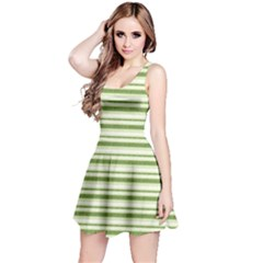 Spring Stripes Reversible Sleeveless Dress by designworld65