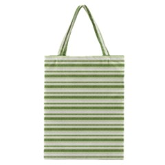 Spring Stripes Classic Tote Bag by designworld65