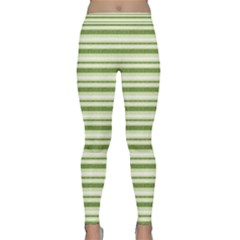Spring Stripes Classic Yoga Leggings